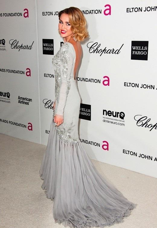 Miley Cyrus Oscars 2012 Tumblr Miley Cyrus in ...