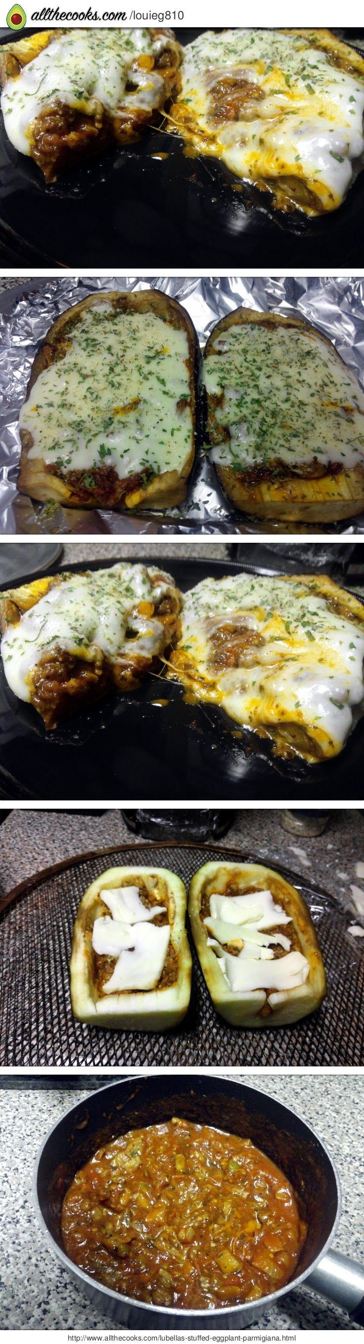 "LuBella's Stuffed Eggplant Parmigiana! 5.00 stars, 1 reviews. ""The ..."