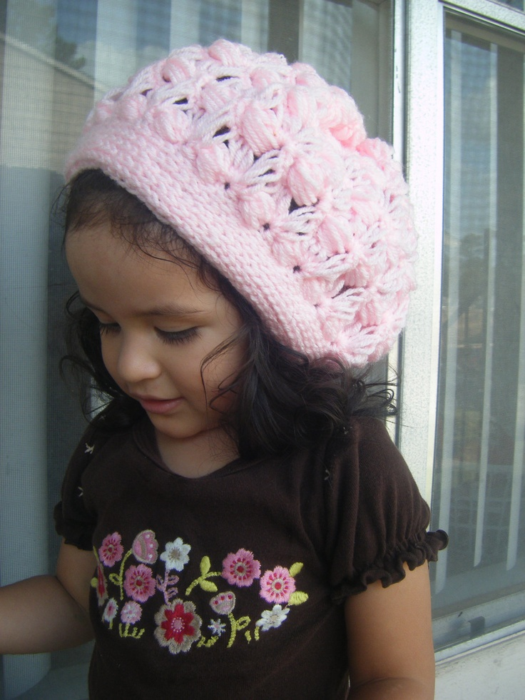Crochet Pattern For Toddler Beret : Crochet PATTERN-The Slouchy Beret (Baby, Toddler, Child ...