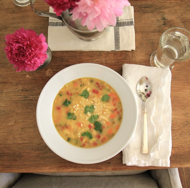 Jenny Steffens Hobick: Summer Vegetable, Sweet Corn & Chicken Chowder