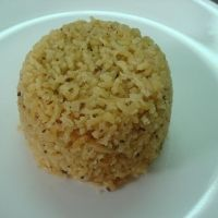 Arroz Con Coco -- colombian coconut rice.