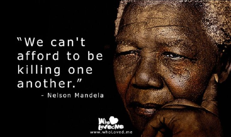25 unity based nelson mandela quotes