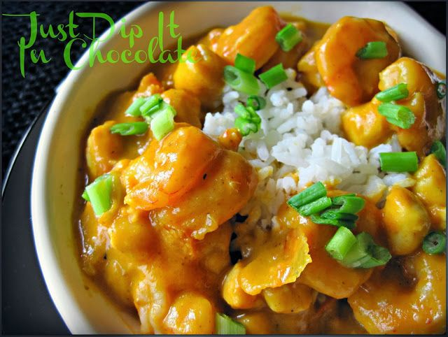 Pumpkin Shrimp and Scallop Curry Recipe, Savory Pumpkin curry is the ...