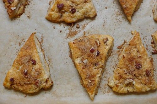 Gluten-Free Pecan Streusel Scones - Silvana's Kitchen