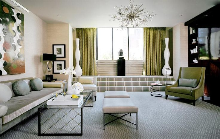 Art Deco Living Room Awesome Decorating Design