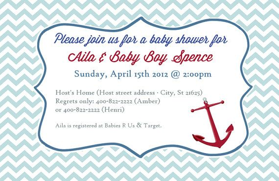 ahoy matey baby shower pinterest invitations