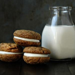 Pumpkin Molasses Sandwich Cookies   Food for the soul   Pinterest