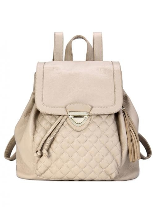 #Udobuy White Fashion Backpacks Bag With Quilted$52