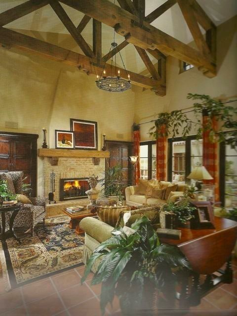 Tuscan inspired living room my dream home pinterest for Tuscan inspired living room ideas
