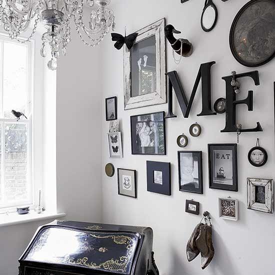 Wall arrangement for the home pinterest for Wall decor arrangements