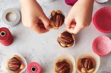 Chocolate Tortoises — Punchfork | Interesting Desserts | Pinterest