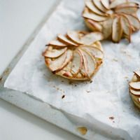 SMP at Home: Apple, Goat Cheese & Honey Tartlets from Jessica Lorren