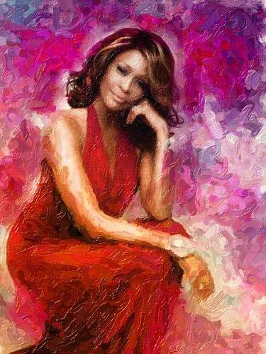 Whitney Houston Oil Painting | Whitney Houston | Pinterest
