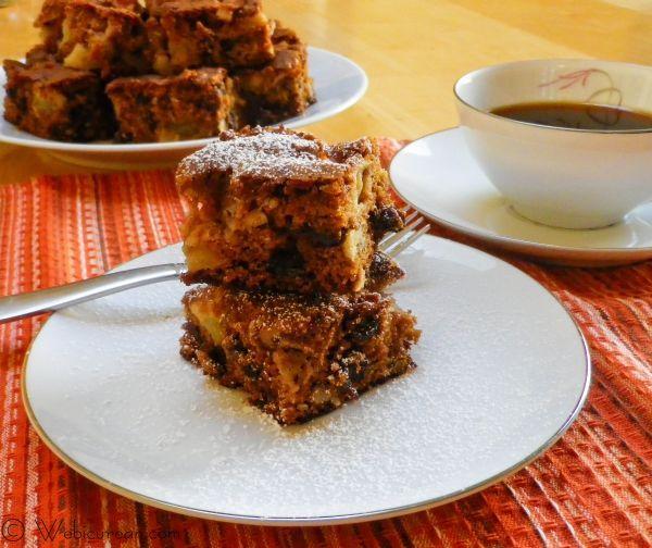 Mom's Raw Apple Cake | Webicurean