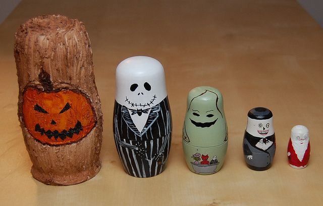 What's This? Nightmare Before Christmas Nesting Dolls