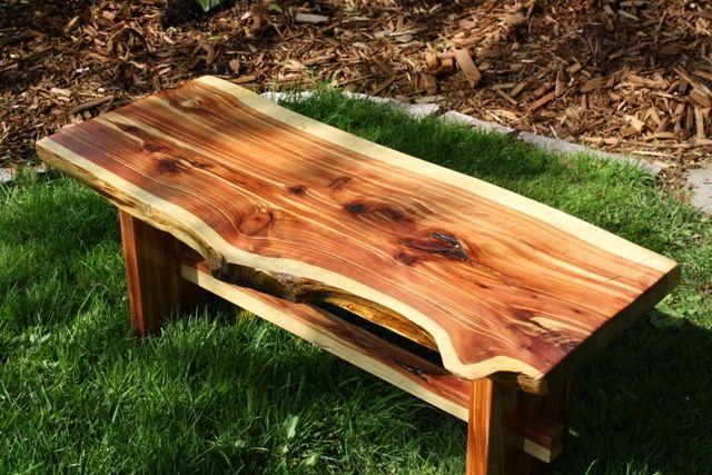 Outdoor Cedar Bench Google Search Outdoor Ideas