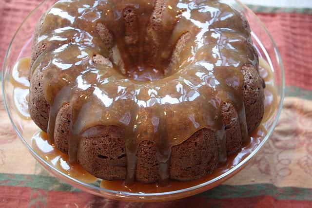 Caramel Apple Cream Cheese Bundt Cake | Cream Cheese Apple Cake | Pin ...