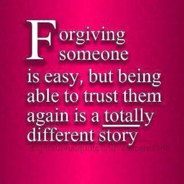 broken trust can make being around some people incredibly hard.
