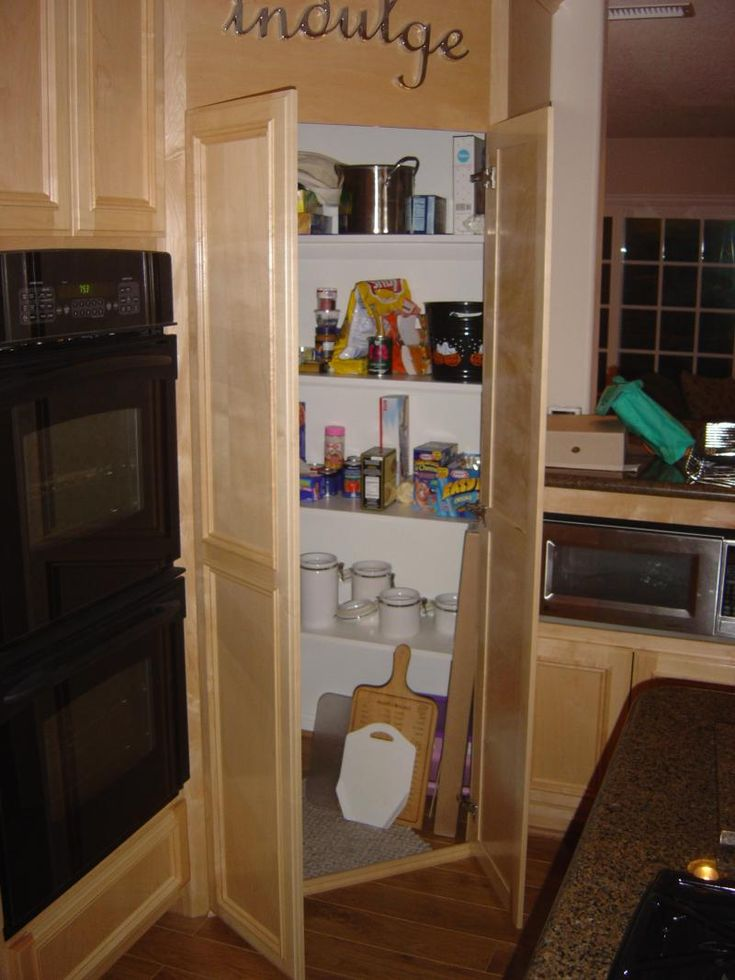 Corner pantry kitchen ideas pinterest for Corner kitchen pantry ideas