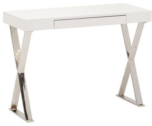 Alexa console table modern side tables and accent tables high