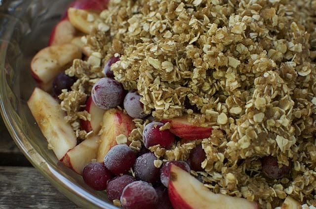 Apples and Honey; An Inspired Apple Crisp