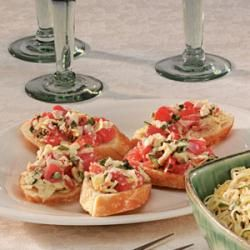 Crostini With Caramelized Onions, Melted Cheese & Sage Recipes ...