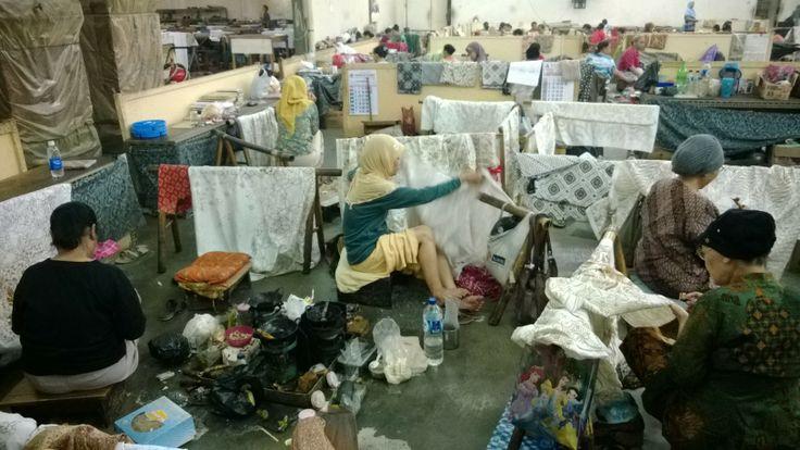 Batik Factory | Danar Hadi Batik factory, Solo, Indonesia