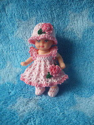 Southern Belle Dress Set for 2 1/2 Inch Krissy Baby Doll
