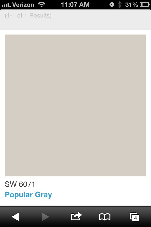 Sherwin williams popular gray for the home pinterest for Popular grey paint sherwin williams