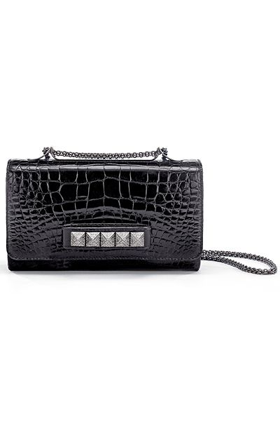 valentino noir clutch