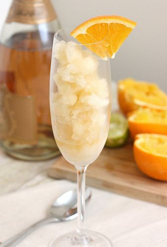 mimosa granita | Sweets, Treats & Drinks. Oh My! | Pinterest