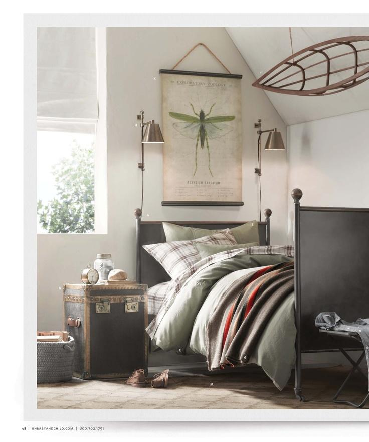 Restoration Hardware Bedroom Pinterest