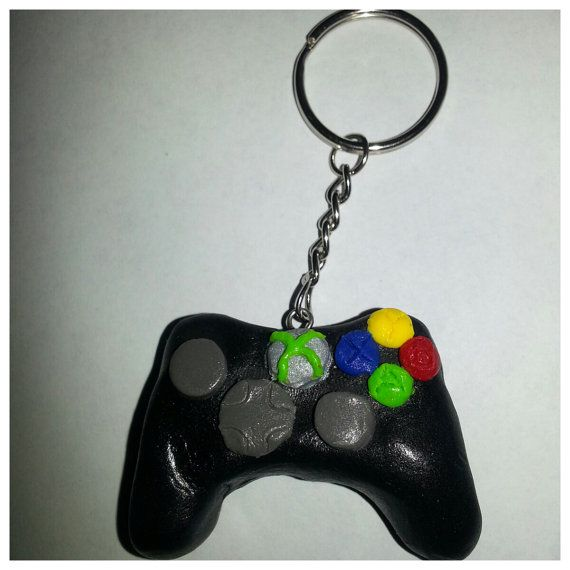Crochet Xbox Controller : Xbox Controller Keychain by MadHouseTrinkets on Etsy, $12.00