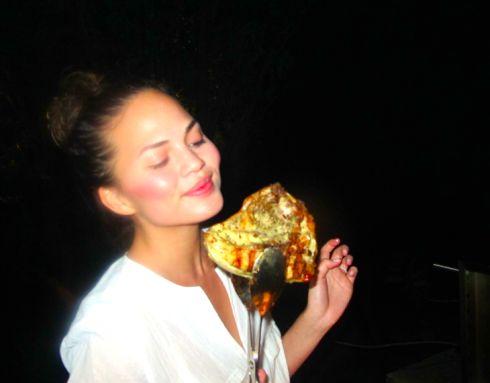 Tuscan Grilled Chicken Under a Brick. Chrissy Teigen/ sodelushious