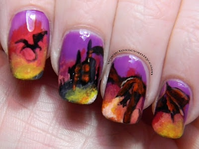 Fire Dragons Nails