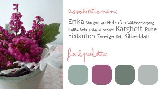 Farbpalette  Winterhochzeit  Pinterest