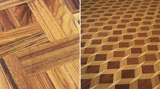 definition parquet flooring