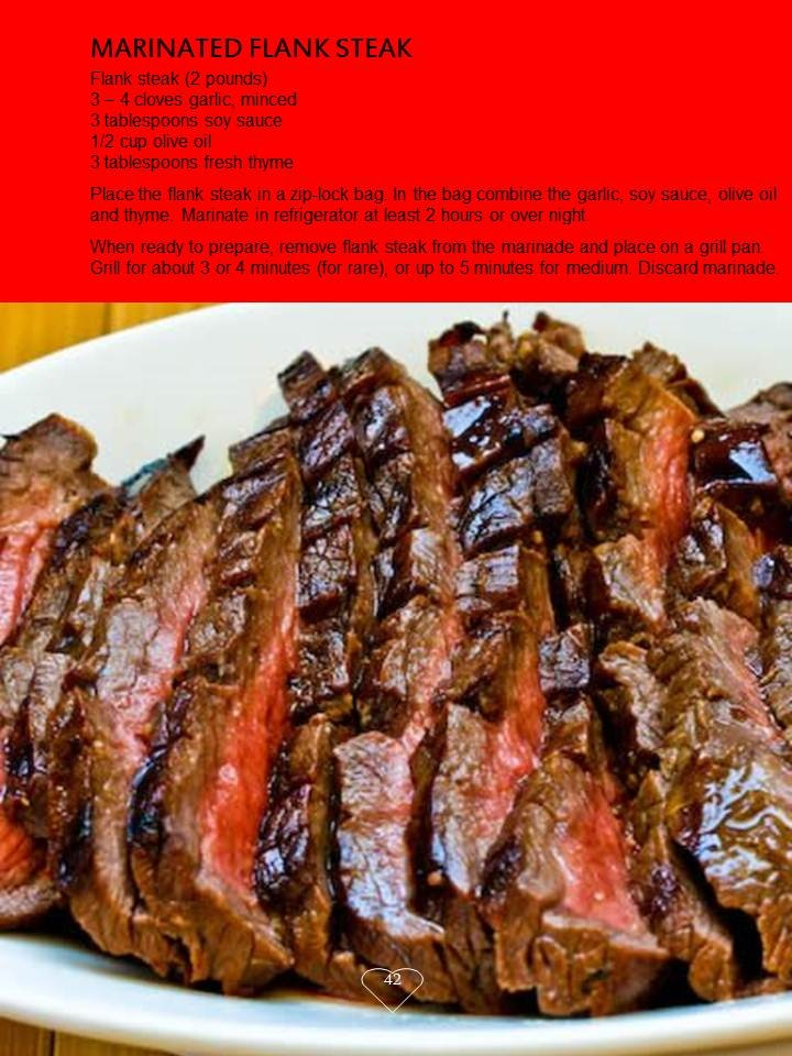 Marinated Flank Steak | My Best Recipes | Pinterest