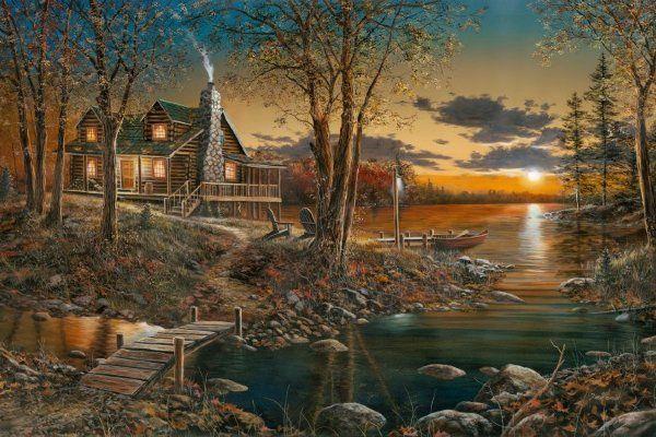 Jim hansel comforts of home art country pinterest - Hansel home ...