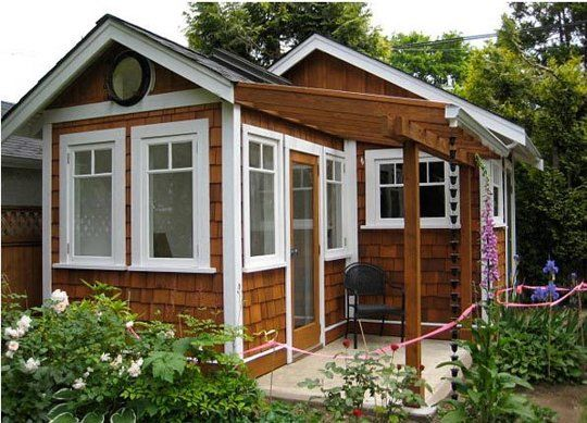 do you have a backyard studio office shed or cottage