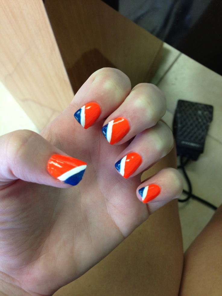 Nail Designs With Orange And Blue: Blues. Nail art the digit al ...