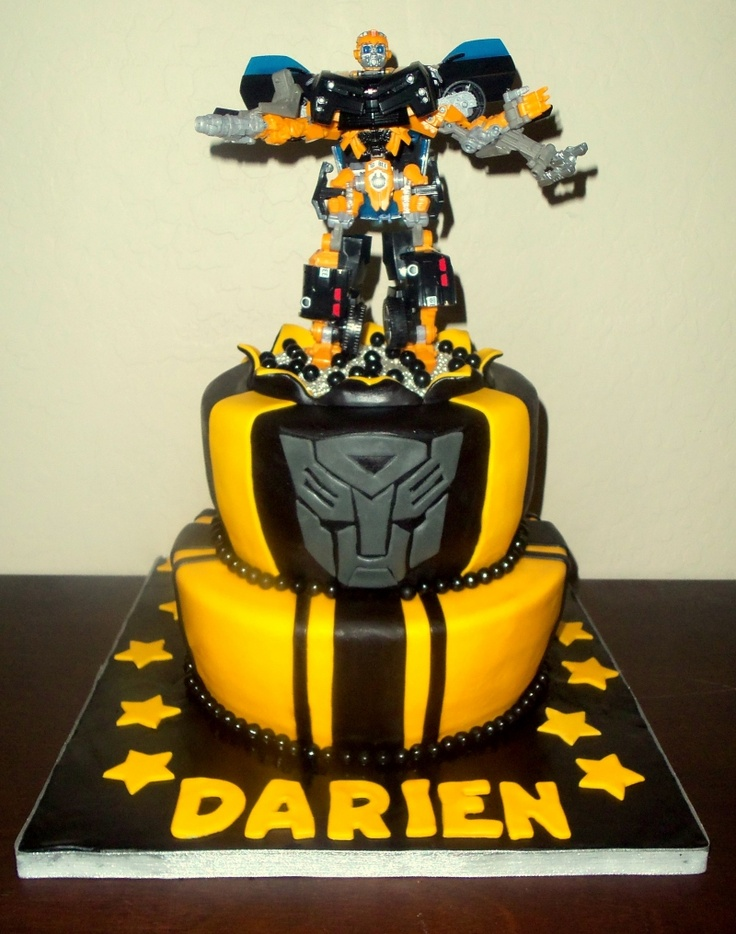 Transformers cake: I want a transformers cake.
