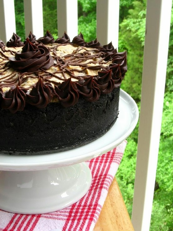 chocolate coffee cheesecake | Recipes | Pinterest