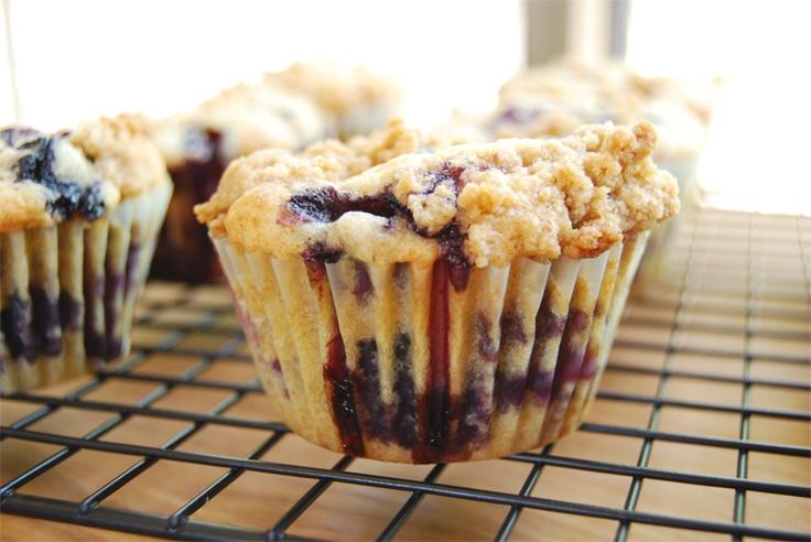 sweet valley bakery: blueberry buttermilk muffins