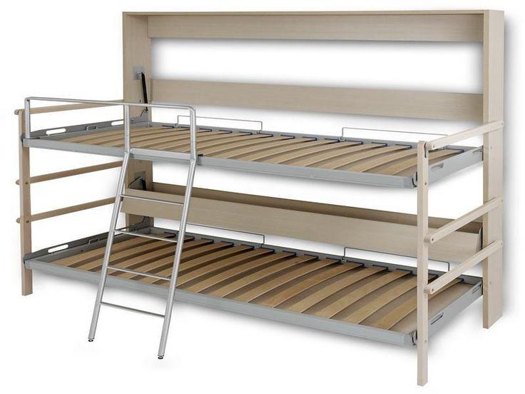 Fold Away Bunk Bed Plans Diy Pinterest