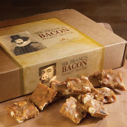 Sir Francis Bacon Peanut Brittle | Mail-Order Foodage | Pinterest