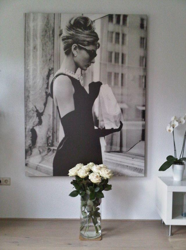 wall decoration of audrey hepburn dream home pinterest