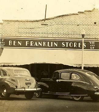 Ben franklin 5 and dime stores vintage photos pinterest Five and dime stores history