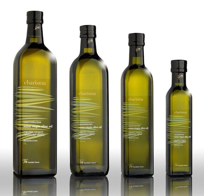 #Charisma #Olive #Oil - #packaging #bottle #design