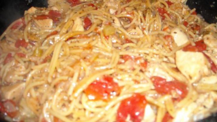 Cajun Chicken Pasta On The Lighter Side Recipe — Dishmaps
